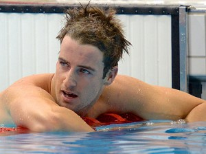 James Magnussen suffered heartbreak, losing the mens 100m freestyle by 0.01 seconds. Source: Yahoo Sport
