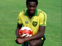 Justin Fashanu, the only ever openly gay EPL player.